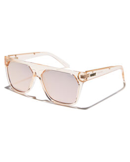 CHAMPAGNE ROSE WOMENS ACCESSORIES QUAY EYEWEAR SUNGLASSES - QW-000444CHMRS
