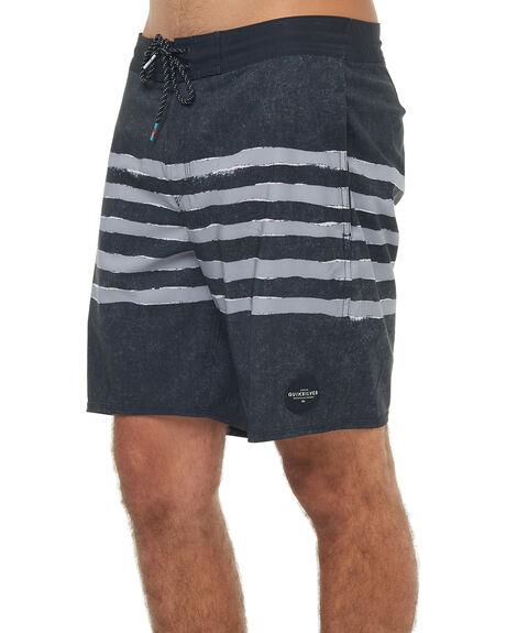 BLACK MENS CLOTHING QUIKSILVER BOARDSHORTS - EQYBS03909KVJ6