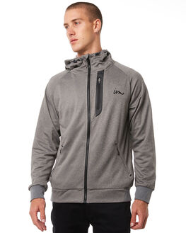 GREY HEATHER MENS CLOTHING IMPERIAL MOTION JUMPERS - 201601009062GRHTR