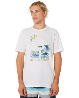 WHITE MENS CLOTHING HURLEY TEES - BV1914100