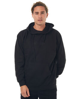 BLACK MENS CLOTHING WELCOME JUMPERS - SCRAWLHDBLK