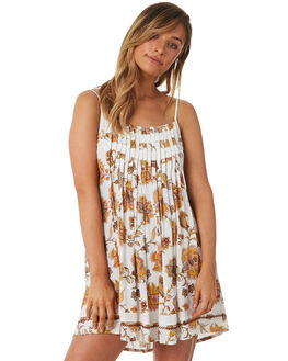 WHITE WOMENS CLOTHING TIGERLILY DRESSES - T382400WHT