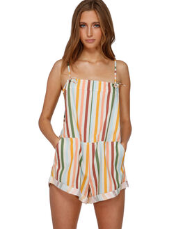 ANTIQUE WHITE WOMENS CLOTHING BILLABONG PLAYSUITS + OVERALLS - BB-6591513-A75
