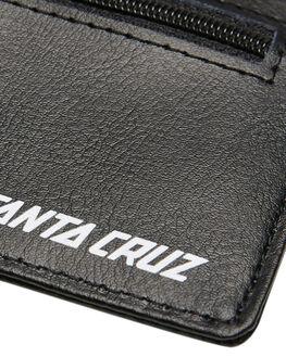 BLACK MENS ACCESSORIES SANTA CRUZ WALLETS - SC-MAA8849BLK