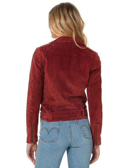 WINE WOMENS CLOTHING TIGERLILY JACKETS - T305241WIN