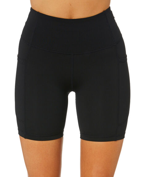 BLACK WOMENS CLOTHING SWELL ACTIVEWEAR - S8214530BLACK