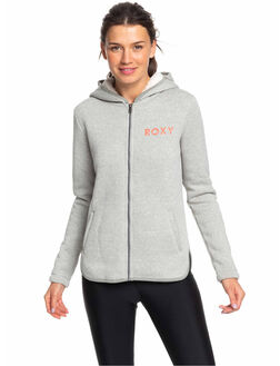 HERITAGE HEATHER WOMENS CLOTHING ROXY JUMPERS - ERJFT04093-SGRH