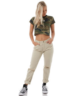 VINTAGE BONE WOMENS CLOTHING THRILLS JEANS - WTDP-412AVNTBNE