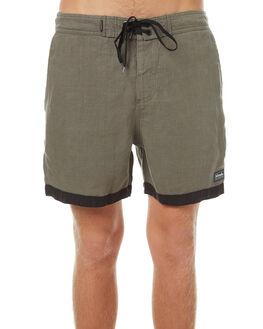 DUSTY OLIVE MENS CLOTHING AFENDS BOARDSHORTS - 10-01-081DOLI
