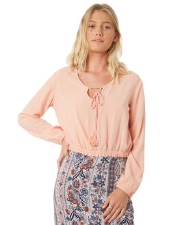 PINK WOMENS CLOTHING ALL ABOUT EVE FASHION TOPS - 6403013PNK