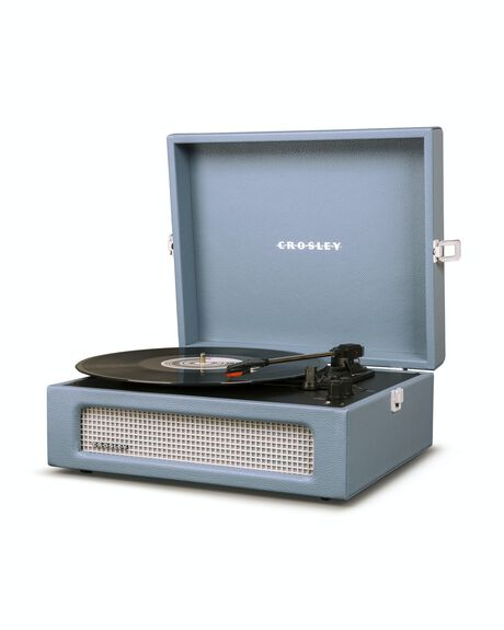 WASHED BLUE MENS ACCESSORIES CROSLEY AUDIO + CAMERAS - CRIW8017A-WB4