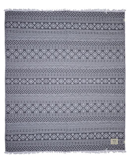 BLACK WOMENS ACCESSORIES MAYDE TOWELS - 17CABABBLK