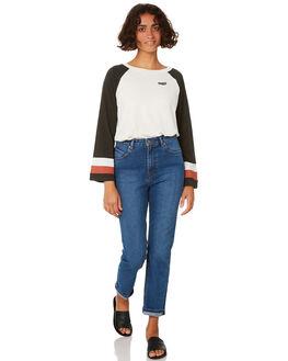 VINTAGE BLACK WOMENS CLOTHING VOLCOM TEES - B0111904VBK