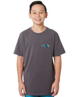 DARK GREY KIDS BOYS RIP CURL TOPS - KTEVH21221