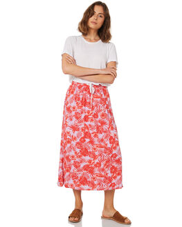 WAIKIKI PRINT WOMENS CLOTHING SASS SKIRTS - 12961SWSSMULTI