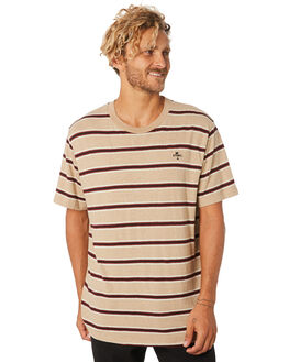 ZEPPELIN STRIPE MENS CLOTHING THRILLS TEES - TA9-126CZZEPST