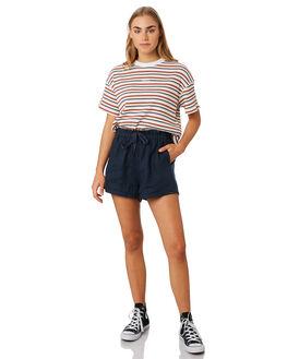 NAVY WOMENS CLOTHING RPM SHORTS - 9PWB02BNAVY