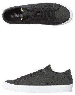BLACK ANTHRACITE MENS FOOTWEAR NIKE SNEAKERS - SSAH3370-001M
