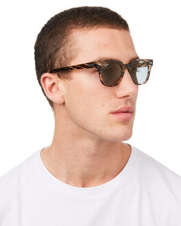 GREY GRADIENT BROWN MENS ACCESSORIES RAY-BAN SUNGLASSES - 0RB2168GRBRN