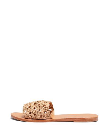 NATURAL WOMENS FOOTWEAR JUST BECAUSE SLIDES - SOLE-JB0260NAT