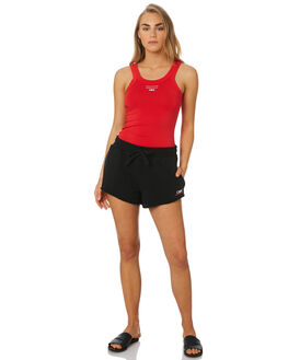 BRIGHT RED WOMENS CLOTHING C&M CAMILLA AND MARC SINGLETS - VCMT7012BRED