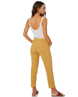 CAMEL WOMENS CLOTHING THE HIDDEN WAY PANTS - H8201202CAMEL