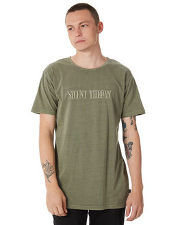KHAKI MENS CLOTHING SILENT THEORY TEES - 4014001KHKI