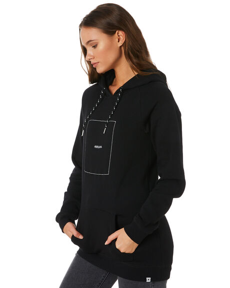 BLACK WOMENS CLOTHING HURLEY JUMPERS - AGFLHRVY00A