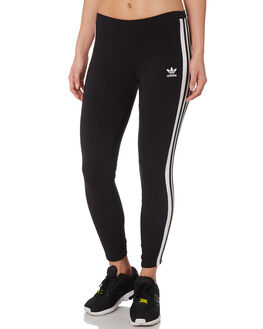BLACK WOMENS CLOTHING ADIDAS PANTS - DU9877BLK