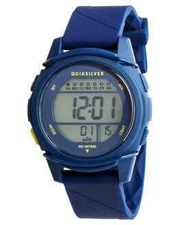NAVY YELLOW NAVY KIDS BOYS QUIKSILVER WATCHES - EQBWD03004XBYB