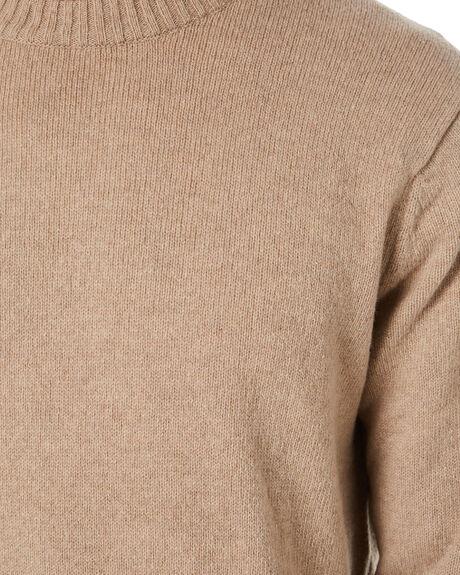 EL CAP KHAKI MENS CLOTHING PATAGONIA KNITS + CARDIGANS - 50655ELKH
