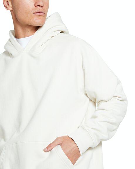NATURAL MENS CLOTHING BLACK NOISE WHITE RAIN HOODIES + SWEATS - 37358000026