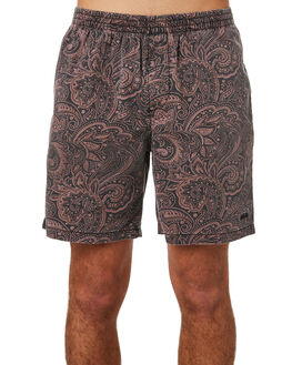 AUBERGINE MENS CLOTHING STUSSY BOARDSHORTS - ST083615AUB