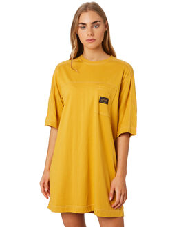 OCHRE WOMENS CLOTHING STUSSY DRESSES - ST192505OCH