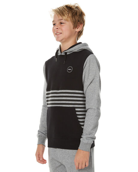 BLACK KIDS BOYS SWELL JUMPERS - S3173446BLK