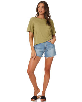 MOSS WOMENS CLOTHING NUDE LUCY TEES - NU23418MOSS