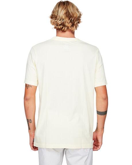 PALE YELLOW MENS CLOTHING RVCA TEES - RV-R192056-PAY