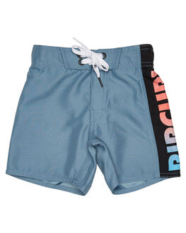 DUSTY BLUE KIDS BOYS RIP CURL BOARDSHORTS - OBOAC33458