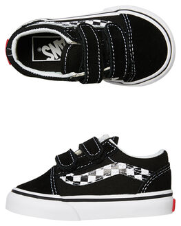 BLACK KIDS BOYS VANS FOOTWEAR - VNA344KUJJBLK