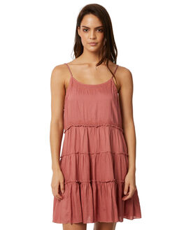 DUSTY PINK WOMENS CLOTHING ALL ABOUT EVE DRESSES - 6403014DPNK
