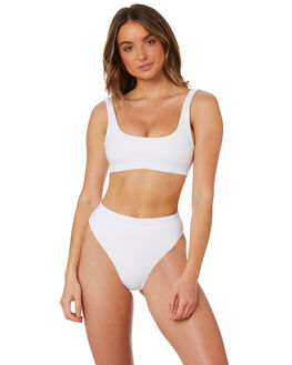 WHITE WOMENS SWIMWEAR INSIGHT BIKINI SETS - 5000003383WHT