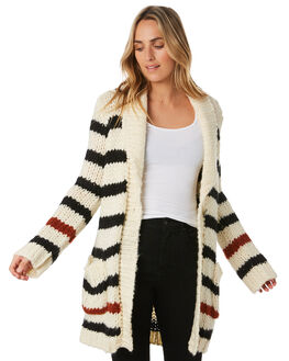 STAR WHITE WOMENS CLOTHING VOLCOM KNITS + CARDIGANS - B0741911SWH