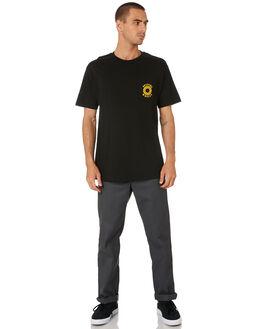 BLACK GOLD MENS CLOTHING SPITFIRE TEES - 51010553DBLKG
