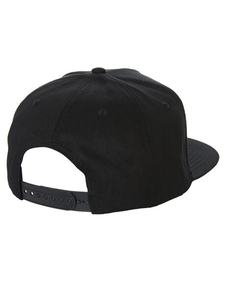 BLACK MENS ACCESSORIES VALLEY HEADWEAR - S0548BLK