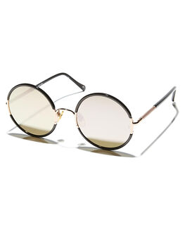 ROSE GOLD WOMENS ACCESSORIES SUNDAY SOMEWHERE SUNGLASSES - SUN037-ROS-SUNRSGLD