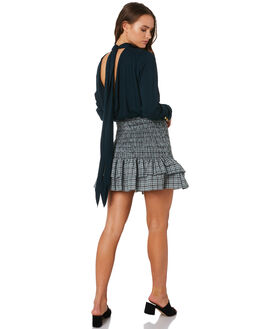 DEEP EMERALD RIVERA WOMENS CLOTHING MLM LABEL FASHION TOPS - MLM517CDEE