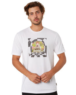 WHITE FLASH MENS CLOTHING VOLCOM TEES - A5212054WHF