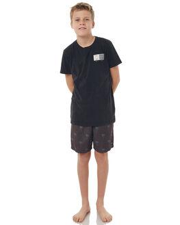 BLACK KIDS BOYS ST GOLIATH SHORTS - 2402020BLK