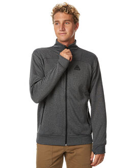 BLACK HEATHER MENS CLOTHING BILLABONG JUMPERS - 9575626BLKH