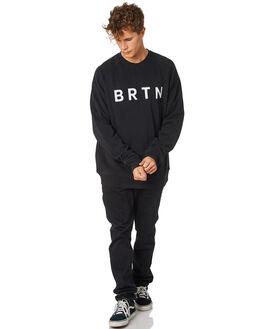 TRUE BLACK MENS CLOTHING BURTON JUMPERS - 20372100001TRBLK
